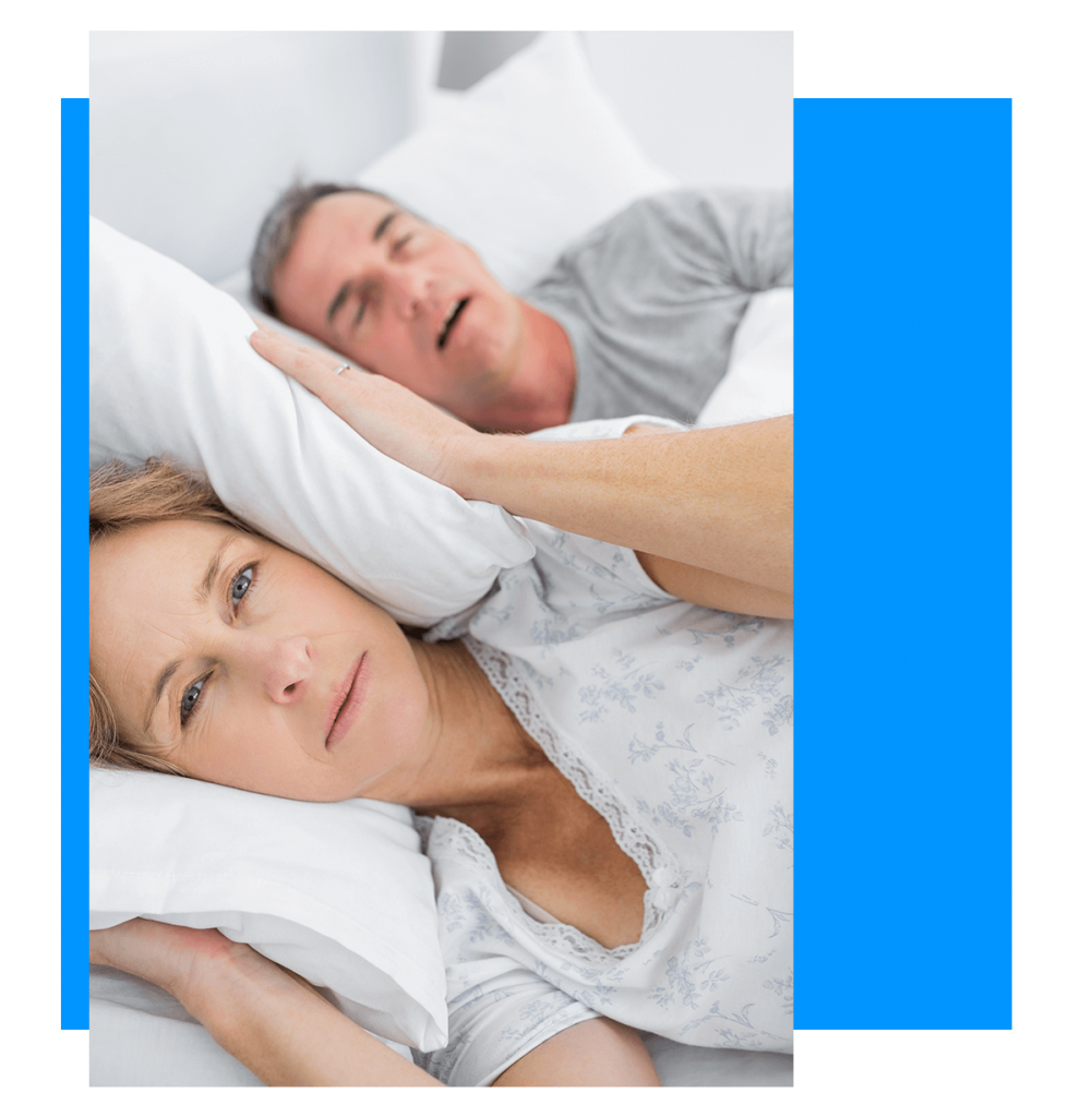 people suffering from sleep apnea